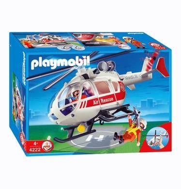 PLAYMOBIL ® Notarzthelikopter Hubschrauber 4222