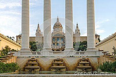 The Museu Nacional d'Art de Catalunya is the national museum of Catalan visual art located in Barcelona, Catalonia, Spain. The Museum is housed in the Palau Nacional, a huge, Italian-style building dating to 1929