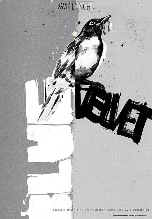 Blue Velvet, Lynch, Polish Poster