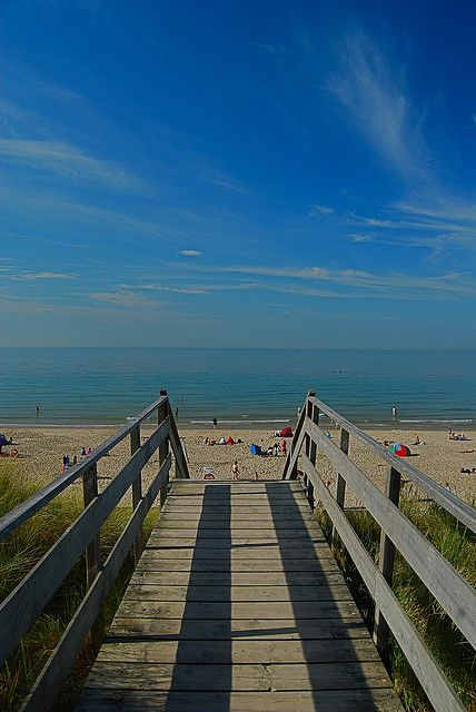 The Way to the Beach at Domburg, Zeeland, Netherlands