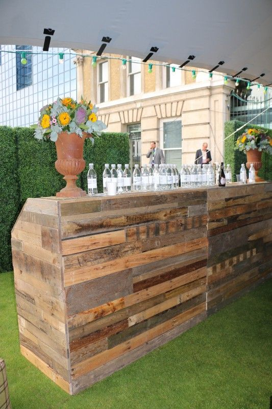 Pallet Bar, Custom Built Themed Bar Hire