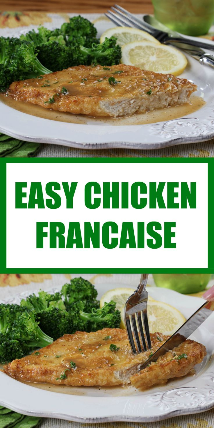 Our Easy Chicken Francaise is a company-fancy and foolproof way to get dinner on the table fast!