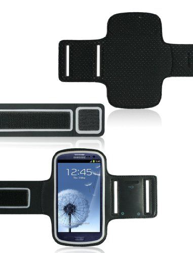 Sport Gym Armband Case for New Samsung Galaxy S3 III (AT&T, T-Mobile, Sprint, Verizon)  for more details visit  : http://mobile.megaluxmart.com/
