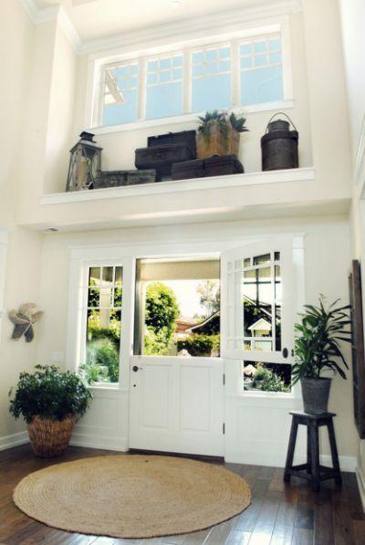 Decorating High Shelves In Living