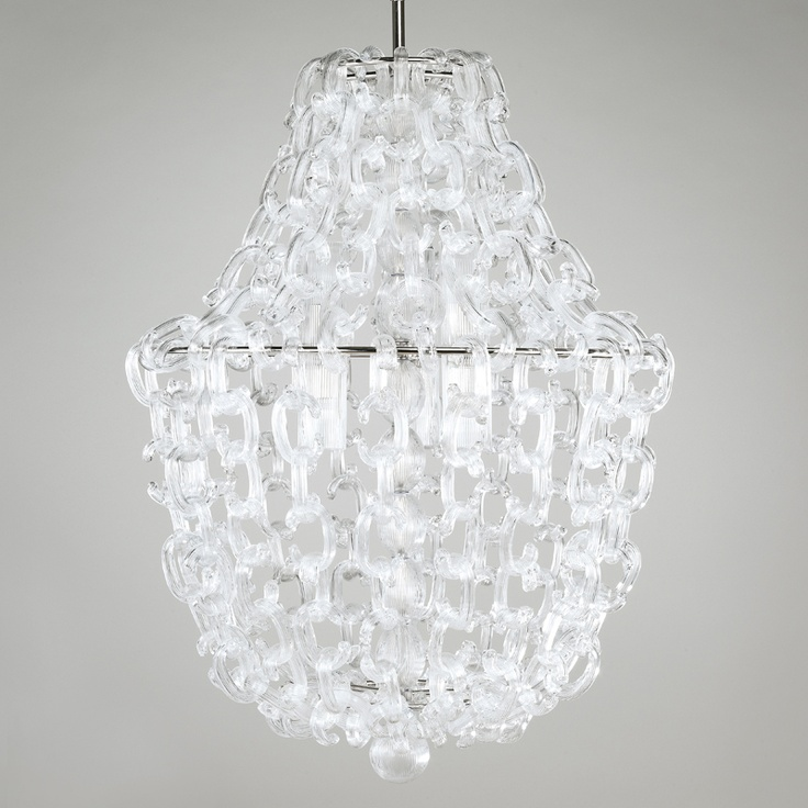 A stunning chandelier from Vaughn Lighting.