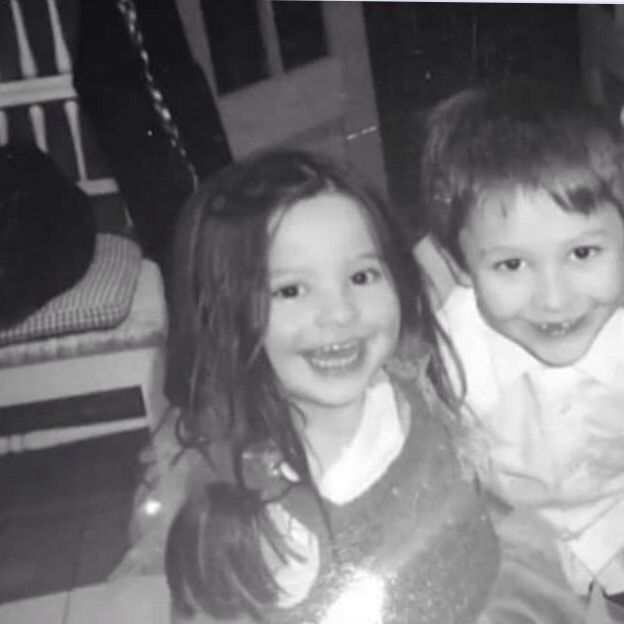Me and my brother when we were younger miss him so much ❤️