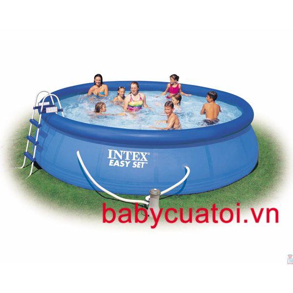 Hồ bơi, bể bơi phao INTEX có lọc nước 56414