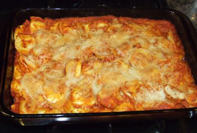 Johnny Carino's Baked Cheese Tortellini: Copycat Recipe