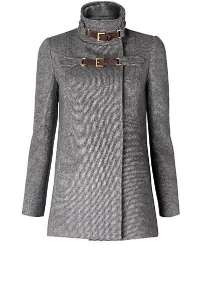 MANGO -  Wool Coat.  $109.00