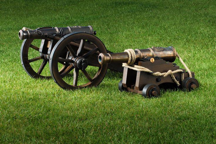 salutní kanon, lafeta, historie, zbraně, napoleon, válka