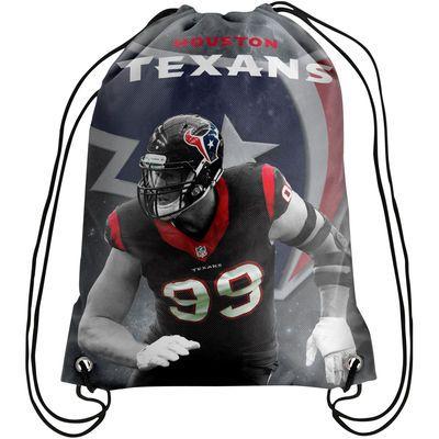J.J. Watt Houston Texans Player Printed Drawstring Backpack