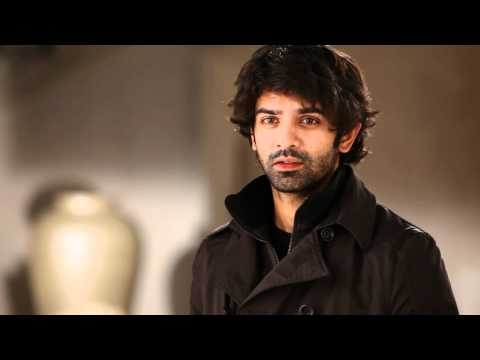 Barun Sobti look test. Lol he's still adorable even with his shaggy look :)