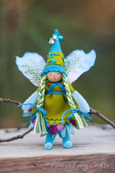 Alexandria's Fairy from Forest Fairy Crafts