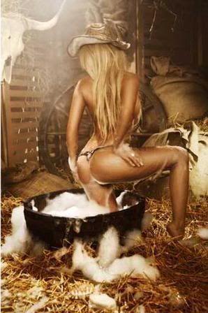 CowGirl Bathing