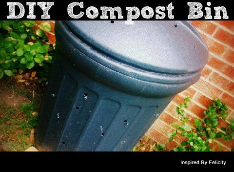 How to make your own compost bin and start turning kitchen scraps into rich soil within a few months  #compost #gardening #garden