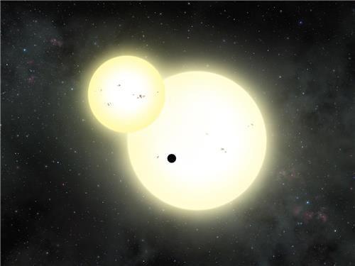 쌍성 주위 도는 목성 크기 행성 발견 : 네이버 뉴스