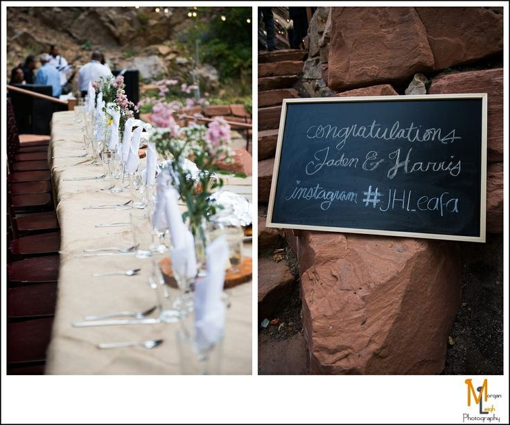 Utah Wedding Photography | create a custom hashtag for guests to tag photos at your wedding | Morgan Leigh Photography