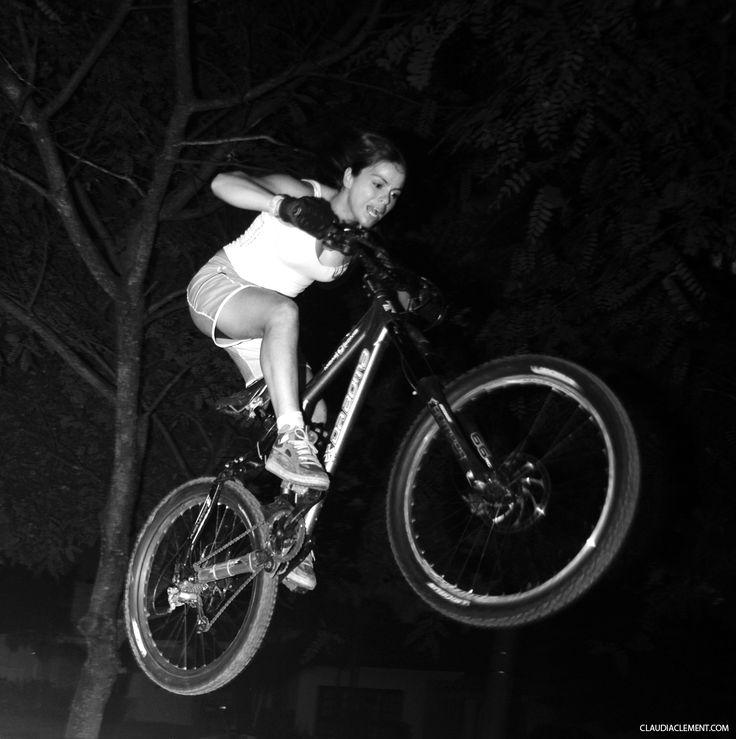 Myself - Claudia Clement - Downhill MTB - Mountain Bike - GirlRider - DownhillGirl - DH Girl