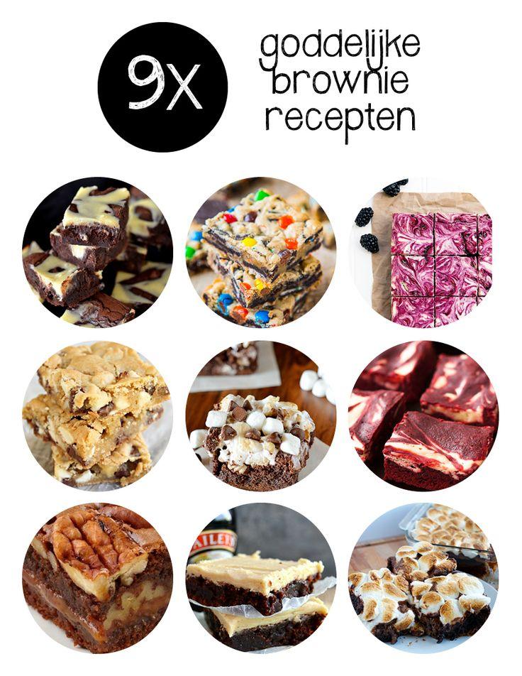 Brownie day! Voor ons een prima reden om de negen lekkerste brownie recepten voor je uit te zoeken. Kijk je mee?