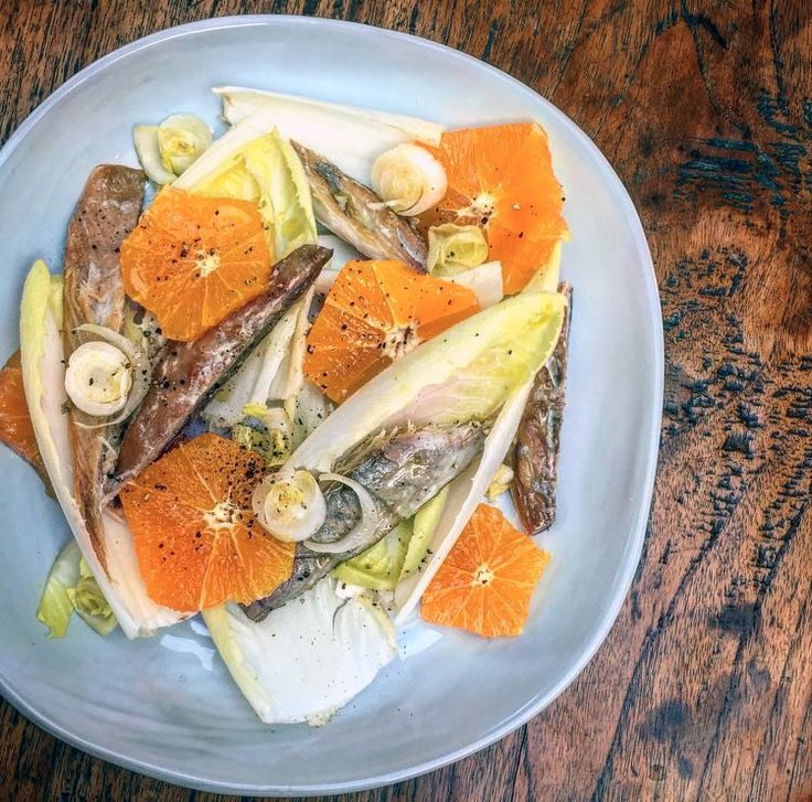 Smoked mackerel salad - Don't knock this recipe until you've tried it. Mackerel and orange are a seriously good low FODMAP duo.