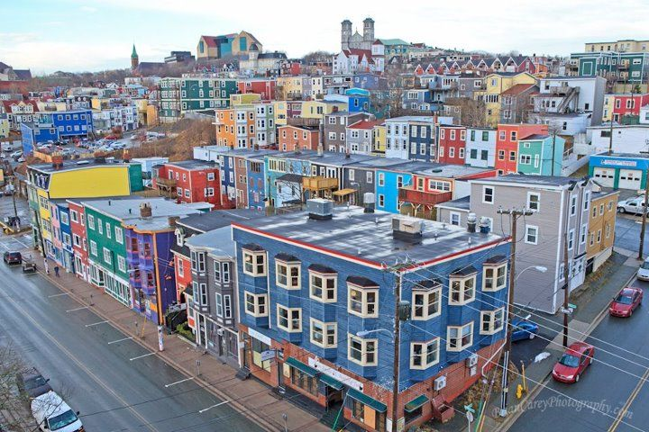 Beautiful photo of a rainy day in the city of 10000 colours - St. Johns