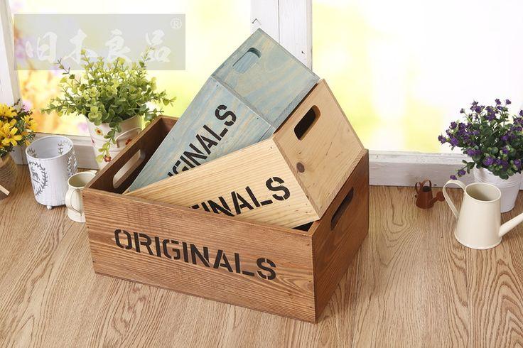 Античная старый б декоративные деревянные деревянный ящик для хранения ящик контейнер ручной макияж хранения коробка для ювелирных изделий Rangement Maison купить на AliExpress
