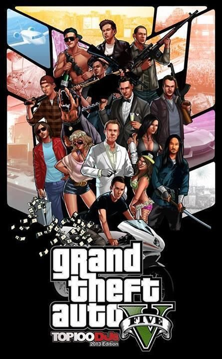 GTA V Electronic Edition