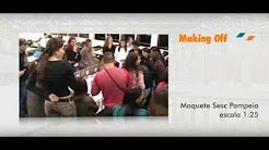Maquete Sesc Pompeia - Arquitetos Modernistas UNICID - YouTube