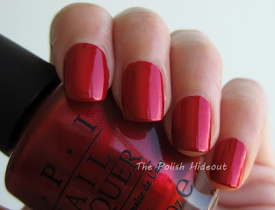 OPI Danke-Shiny Red - Germany Collection