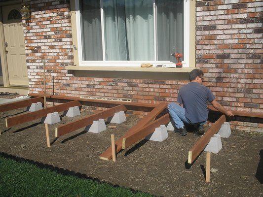 Do It Yourself Home Design: Floating Deck, Deck, Building
