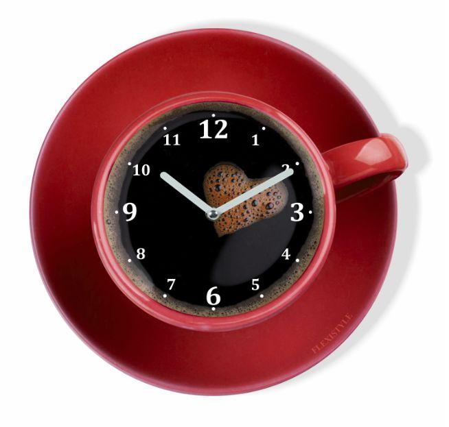 Nowoczesny zegar do kuchni