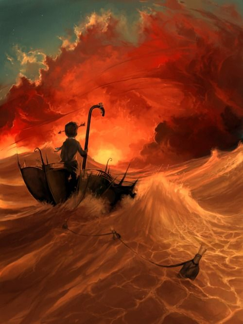 sailing in an umbrella: Cyril Rolando, Digital Paintings, Cyrilrolando, Child Rooms, The Ocean, Illustration, Digital Art, Umbrellas Art, Sailing Away
