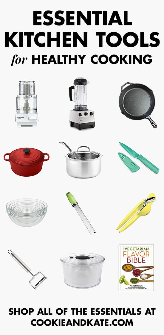 Good Find All The Essential Kitchen Tools For Healthy Cooking! Cookieandkate.com Part 4