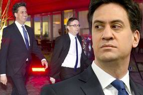 Ed Miliband attacked in street by thugs wearing masks of SNP ex-leader Alex Salmond