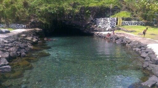 The beautiful Piula Cave Pool. A must see when in Upolu