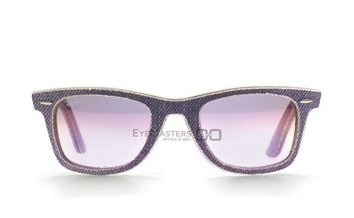 Okulary przeciwsłoneczne unisex Ray-Ban 2140 1167/S5 Wayfarer Denim | Eyemasters