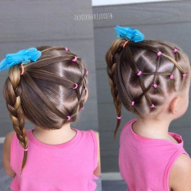 Peinados Faciles Para Nina De 3 Anos Paso A Paso Little Girl Hairstyles Toddler Hair Girl Hairstyles