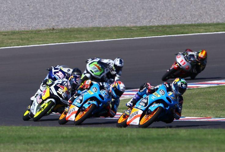 Alex Marquez, Moto3 race, Argentinian MotoGP 2014