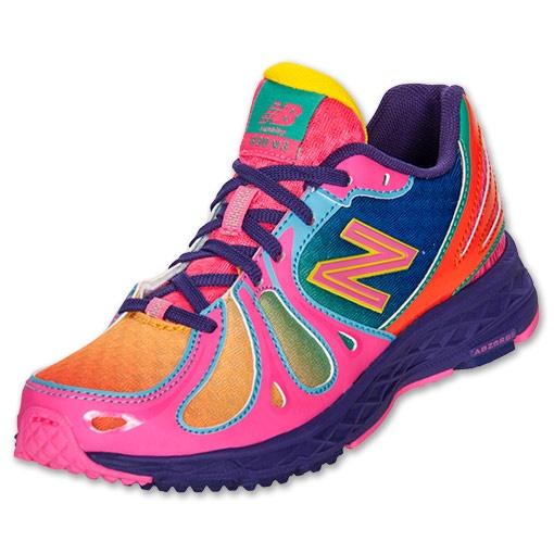 Girls' Preschool New Balance 890 Running Shoes | FinishLine.com | Rainbow