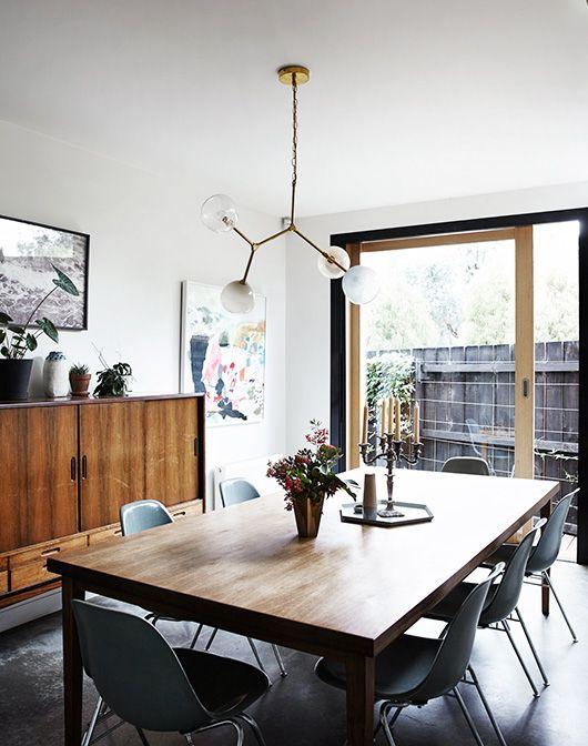 modern australian home dining room decor / sfgirlbybay