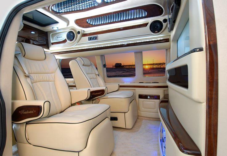 GMC Savana Custom Van Conversion Options | Chevy Luxury Conversion Vans