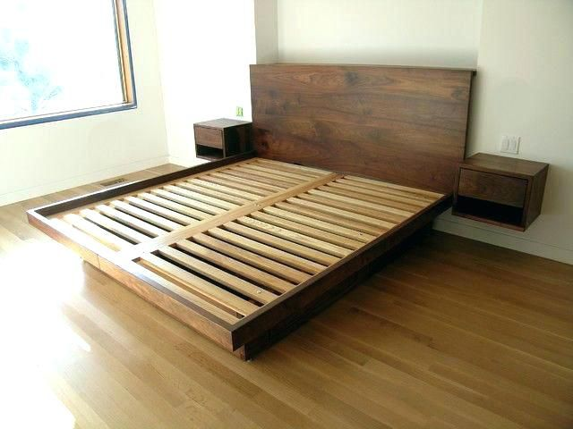 Diy Wood Platform Bed Floating Platform Bed Floating Bed Frame Best