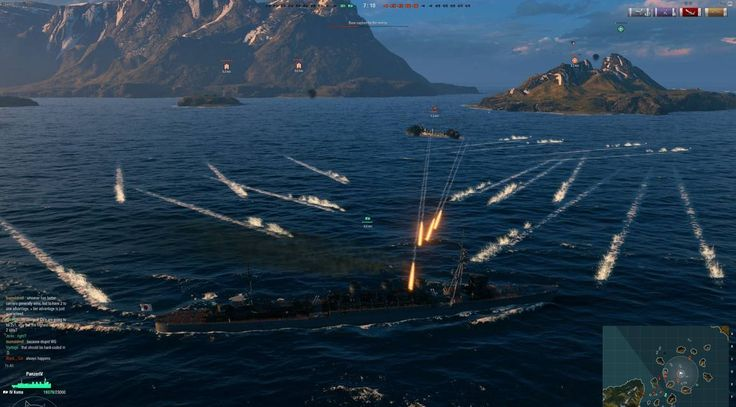 WORLD OF WARSHIPS is much probably the best naval combat game ever developed, with a great mix of strategy and adrenalinic action.