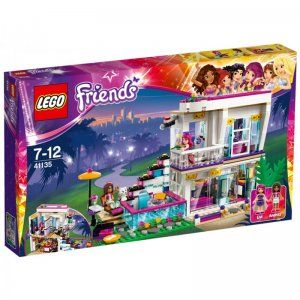 LEGO Friends Casa vedetei pop Livi [41135]