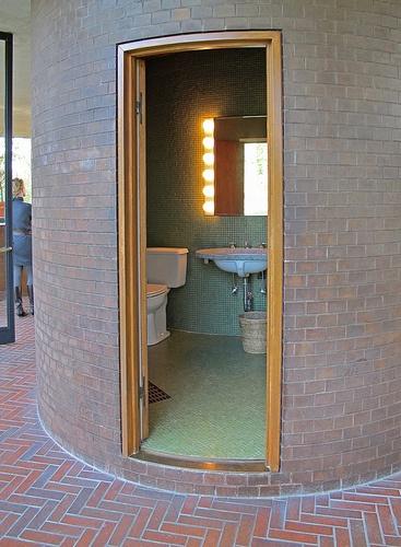 Philip Johnson Residence    Glass House interior    Philip Johnson, architect  1949