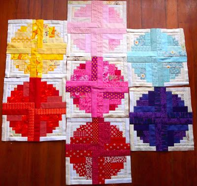 Quilting is more fun than Housework...: Oh Scrap! : Seeing Spots
