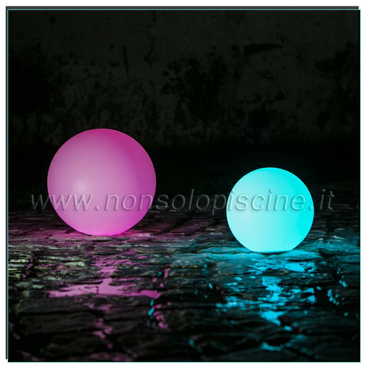 #sferediluce #illuminazionepiscina #ledball