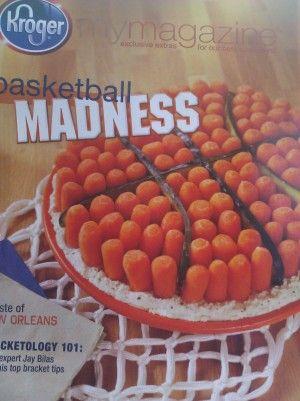 Carrot & Dip Basketball