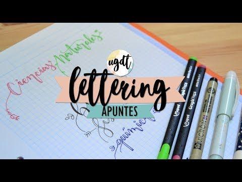 Apuntes bonitos con letras bonitas - Con las ideas de Saray - UGDT - YouTube