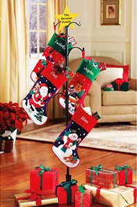 Marvelous $19 Personalized Metal Christmas Stocking Holder @ Walmart   Hot Deals